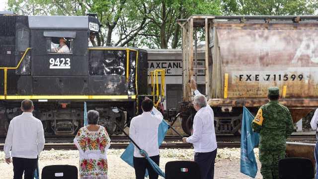 Estas empresas fabricarán los ferrocarriles del Tren Maya