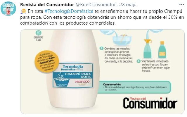 La revista del Consumidor compartió su receta en redes sociales