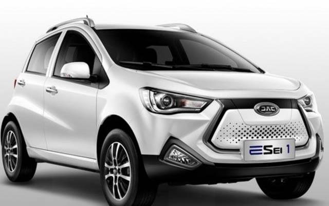 Autos eléctrico chino