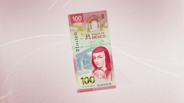 billete de 100 pesos de Sor Juana más valioso