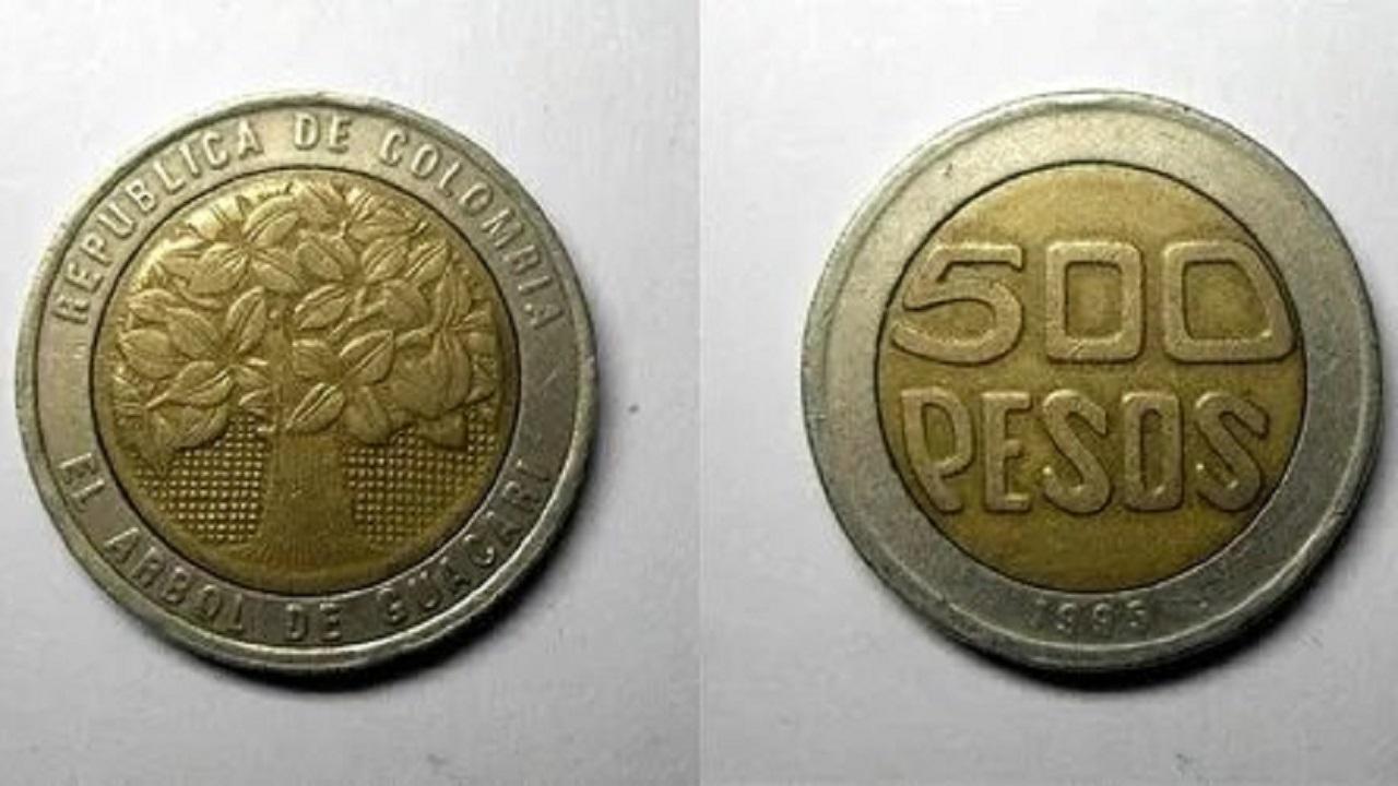Monedas antiguas valiosas mexicanas y colombianas