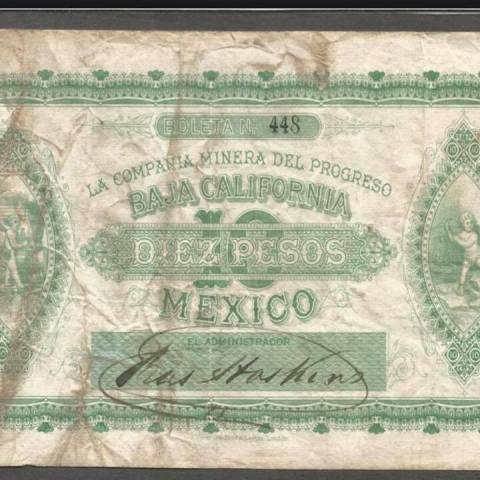 primer billete de México