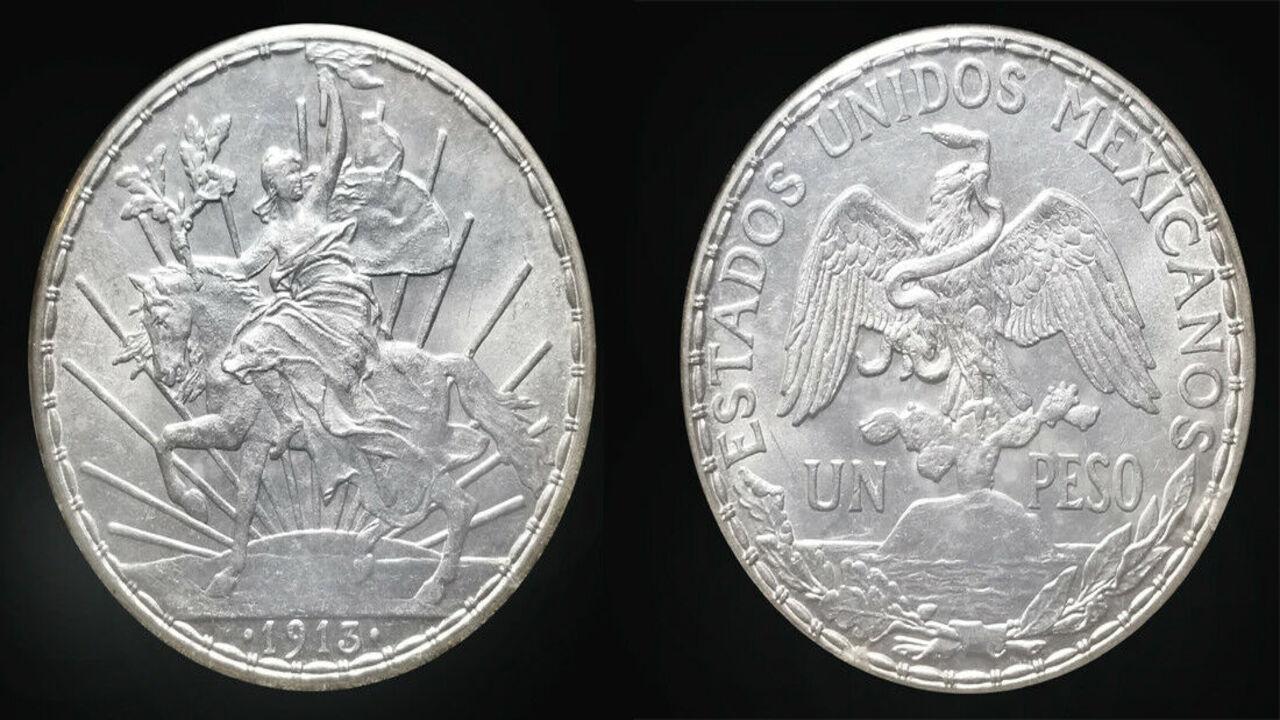 moneda de plata 'Peso del Caballito'