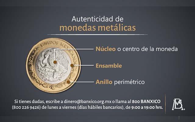 Identifica monedas falsas