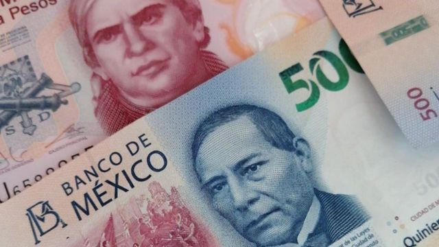 Valor de monedas latinoamericanas contra la moneda mexicana