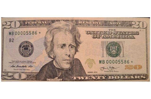El precio de dólar en este billete es alto