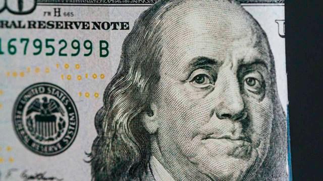 Precio del dólar disminuye hoy