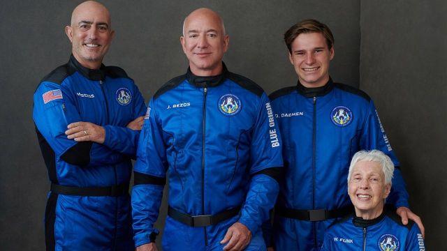 Viajar al espacio Jeff Bezos