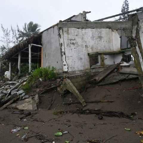 Cuitláhuac García explicó que una de las maneras de financiar los daños del huracán Grace es el seguro agrario