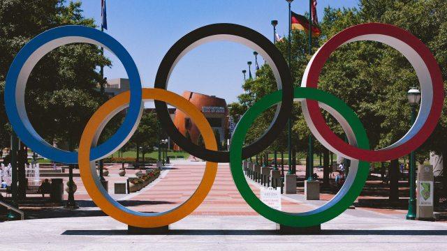 Medalla olímpica subasta