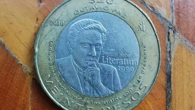 Moneda Octavio Paz