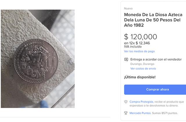 Monedas antiguas que valen