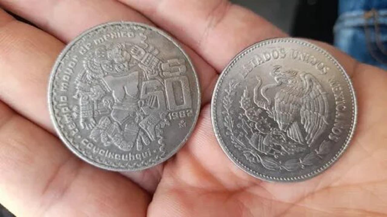 Moneda de Coyolxauhqui y sus características