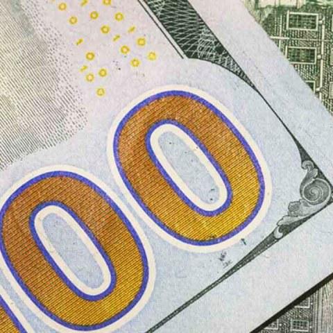 El precio del dólar baja