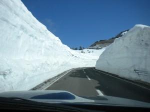 山田峠雪の回廊