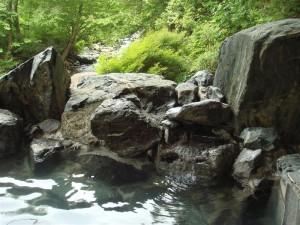 小住温泉の露天風呂