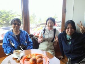日本1高いパン屋さんでコヒーブレイク