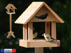 mangeoires pour oiseaux mangeoire pic nic avec pied