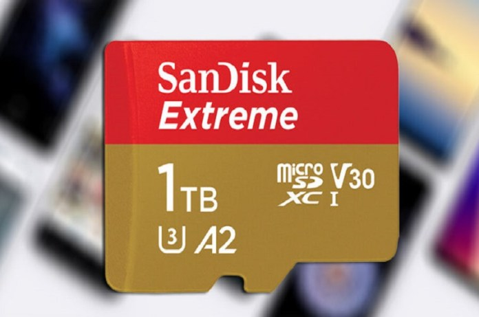 Now Sandisk 1TB microSD Card