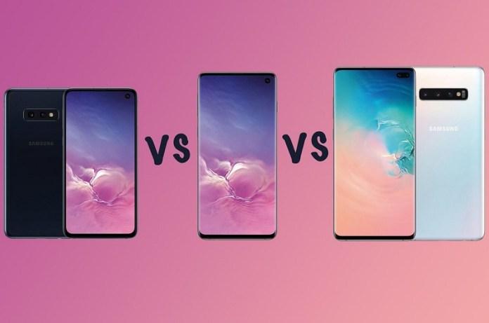 Samsung Galaxy S10 vs S10 Plus vs S10e which S10 is better smartphone