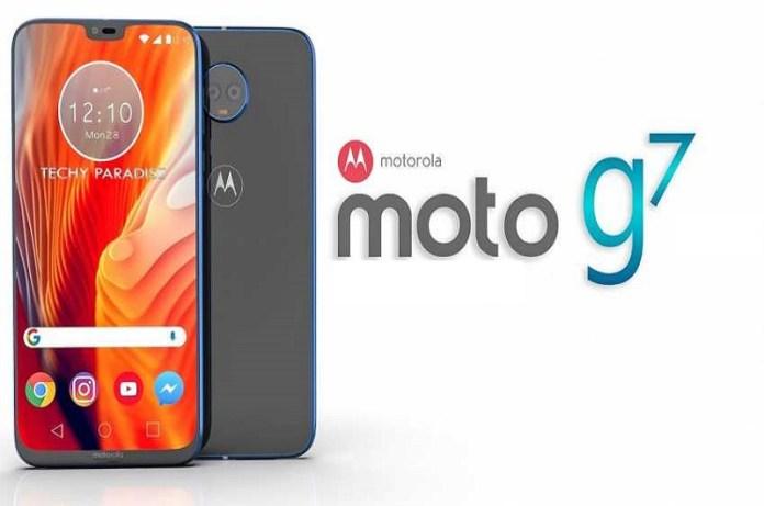 moto g7 series smartphone