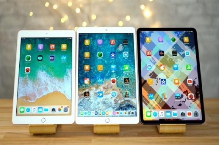 Compare Between iPad Air 2019 vs iPad 2018 vs iPad Pro 2018 vs iPad Pro 2017