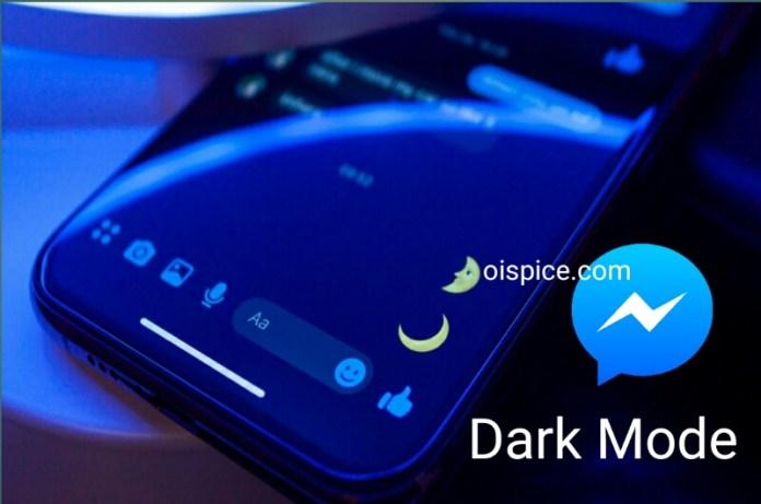 Enable Facebook Messenger Dark Mode