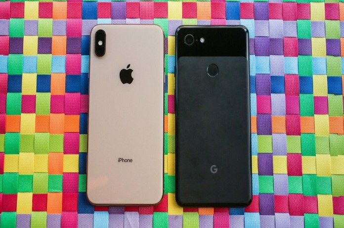 iphone xs vs pixel 3