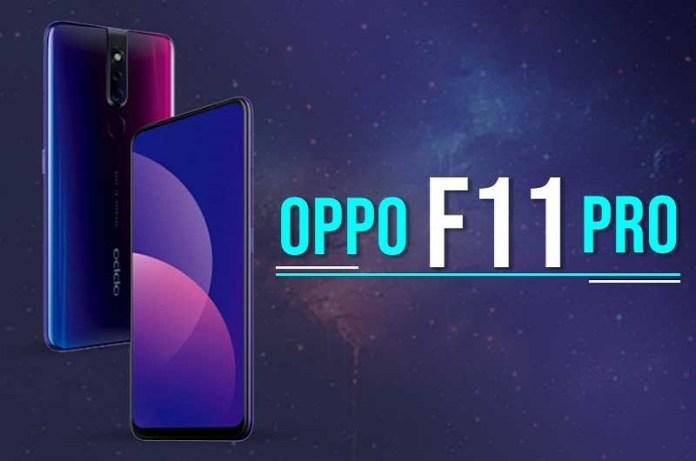 oppo F11 Pro Smartphone with 48MP camera