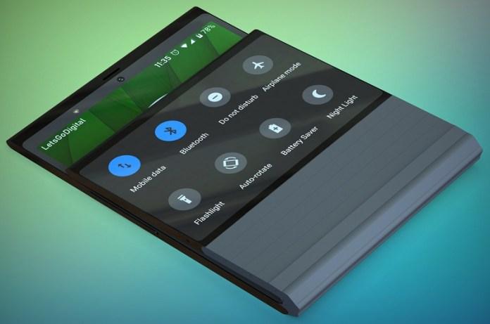 Lenovo Fold smartphone