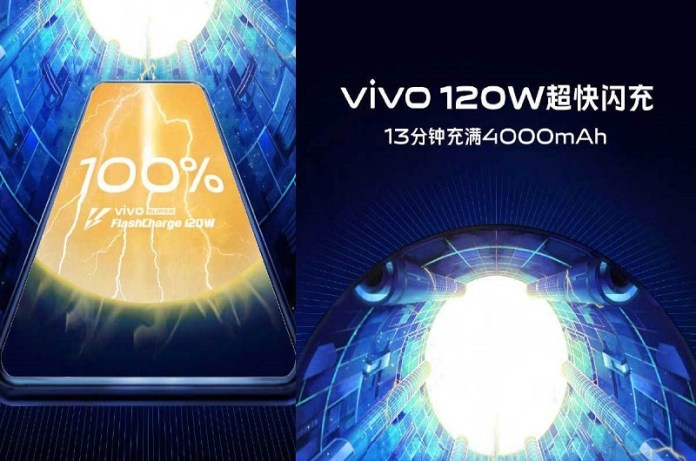 Super FlashCharge 120W by Vivo Can Fills A 4000mAh Battery Phone in 13 Minutes