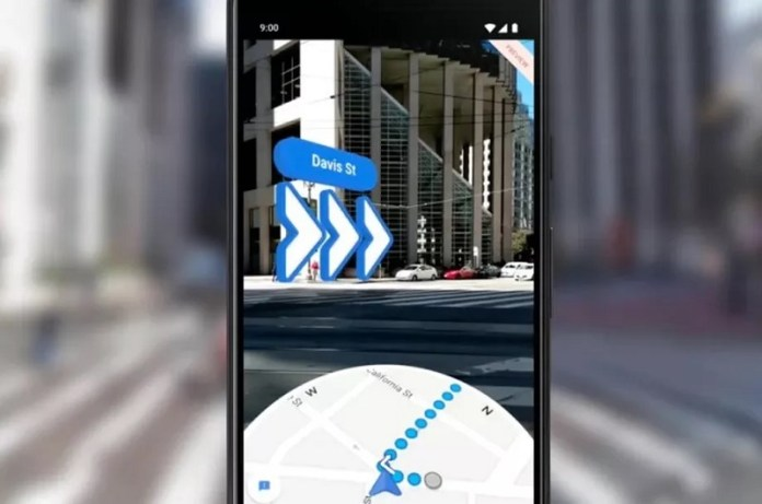 Google Maps AR Live Walking Directions Arrive On iOS and Android