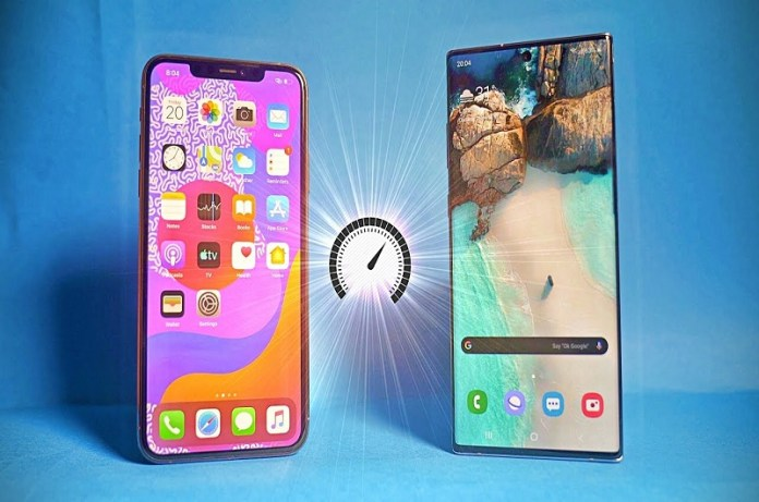 Samsung Galaxy Note 10 Plus and Apple iPhone 11 Pro Max