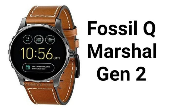 Fossil Q Marshal Gen 2 smartwatch