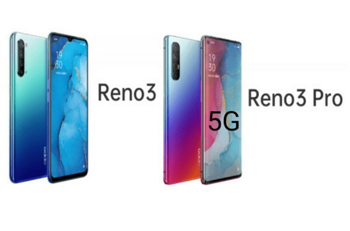 5G Reno 3 Smartphone Specifications and price