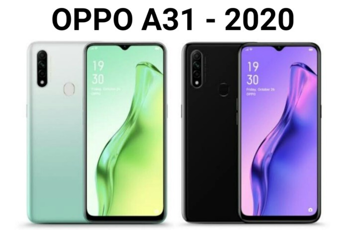 Oppo A31 2020 smartphone specification