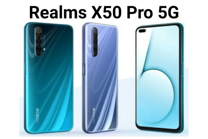 Realme X50 Pro 5G Smartphone Specifications