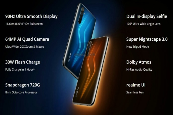 Realme 6 Pro Smartphone Specifications Details