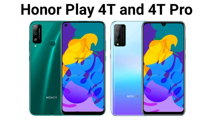 Honor Play 4T and 4T Pro pros and cons