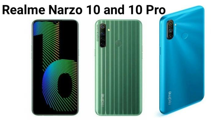 Realme Narzo 10 vs Narzo 10A