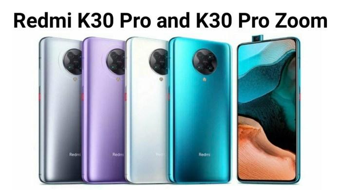 Redmi K30 Pro vs Redmi k30 Pro Zoom