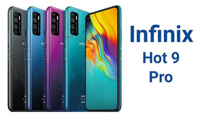 Infinix Hot 9 Pro smartphone
