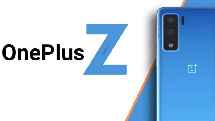 One Plus Z smartphone