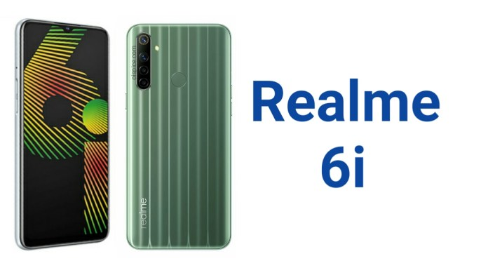 Realme 6i Pros and cons
