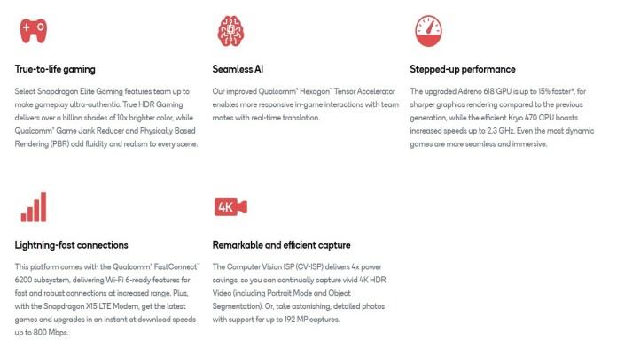 Qualcomm Snapdragon 732G Soc processor