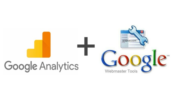 Search Console and Google Analytics combine data