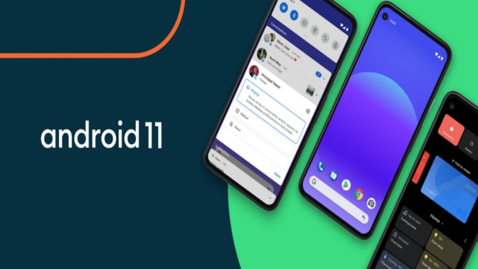 Google rollout Android 11