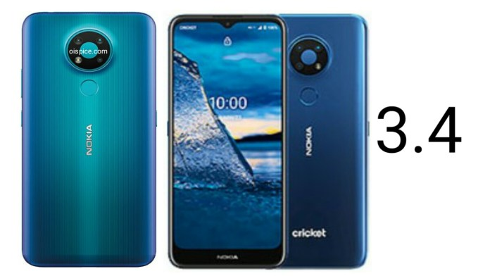 Nokia 3.4 Pros and Cons