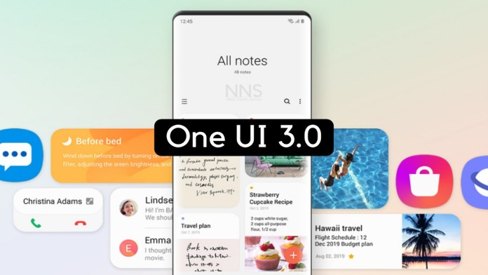 One UI 3 features