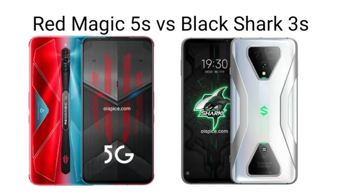 ZTE Nubia Red Magic 5S vs Xiaomi Black Shark 3S